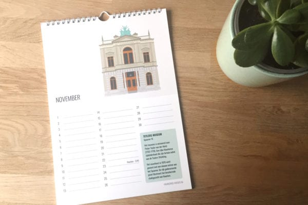It's the birthday of our city: 15% discount on the new birthday calendar!