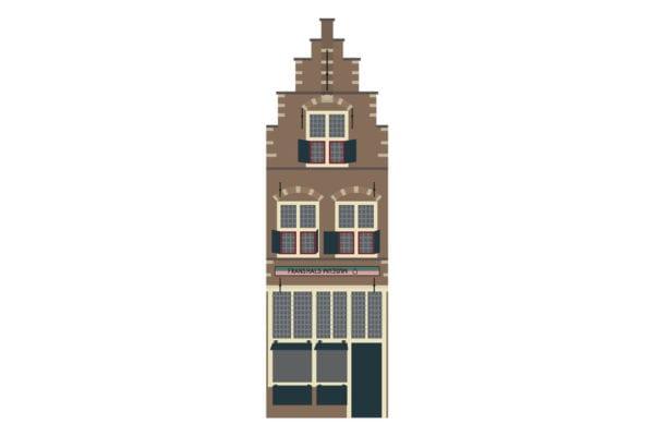 Het nieuwste Haarlemse Huisje: het Vishuisje